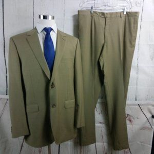 Byron British Style 46L 2 Button Tan 2pc Suit